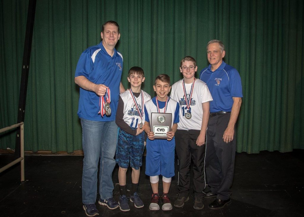 Coach Tuffy's 6th Grade Sportsmanship Award ~ 2018