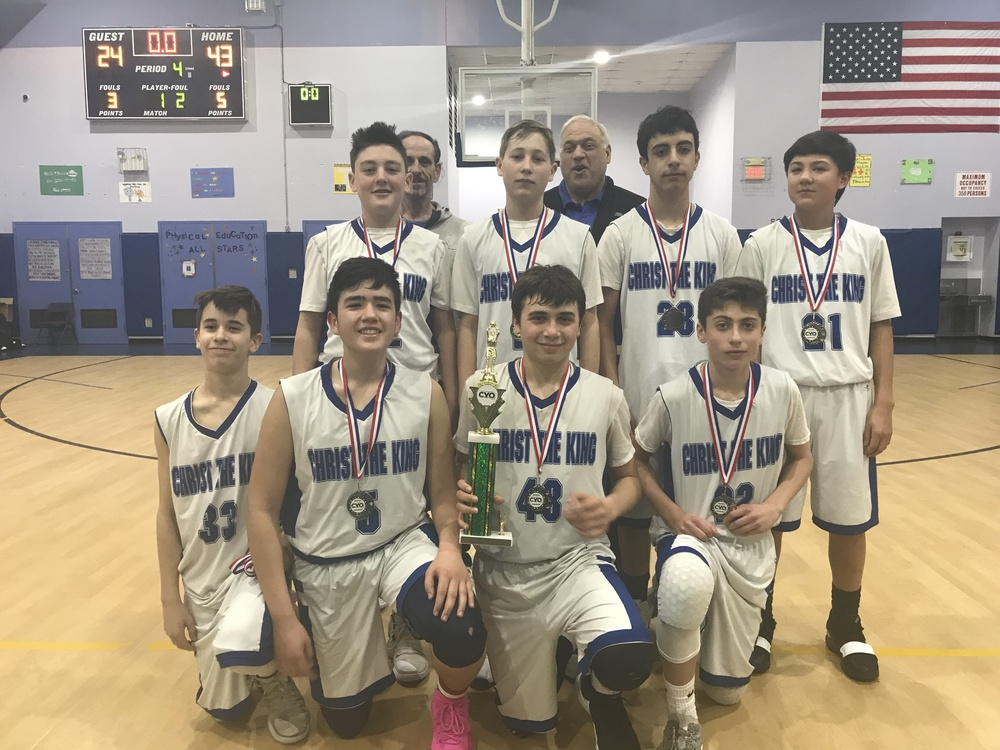 7th Grade Diocesan Championship Winners (Rosenoff) ~ March 2019