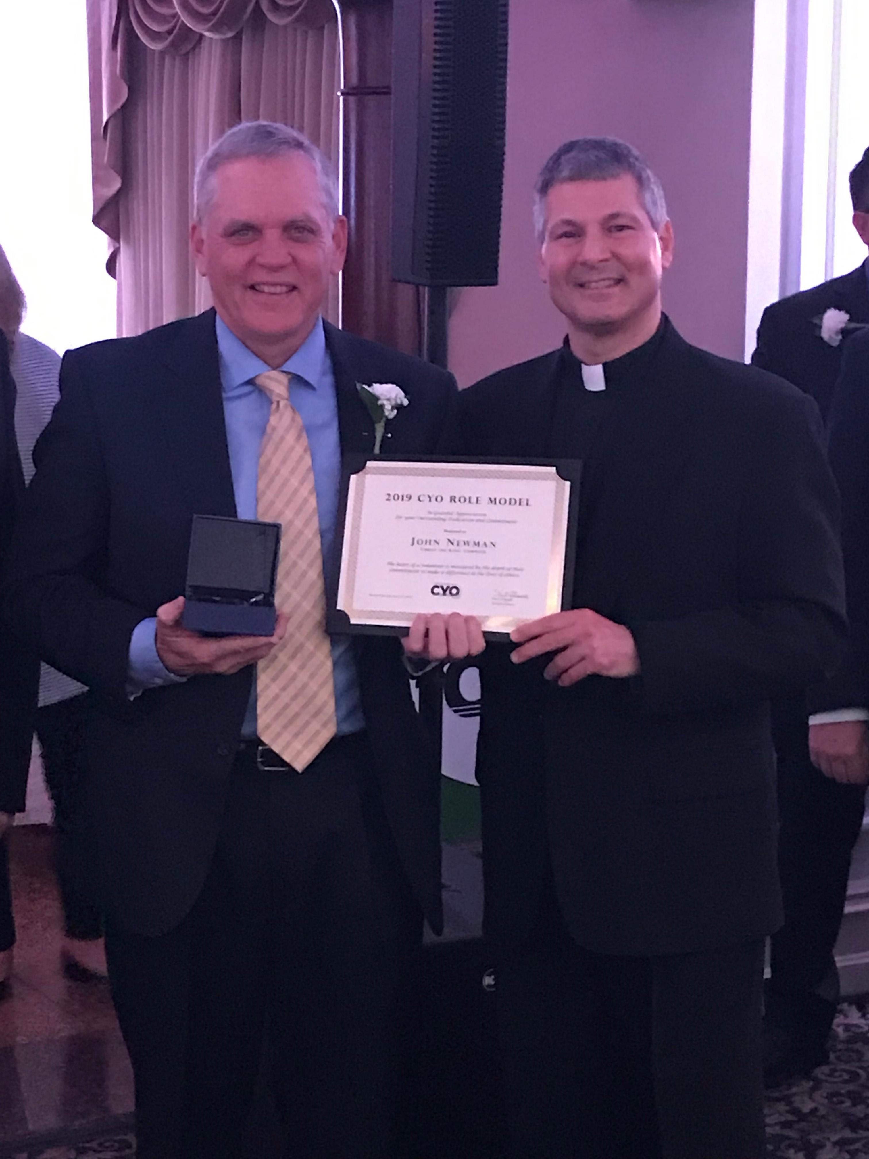 John Newman ~ CYO Award