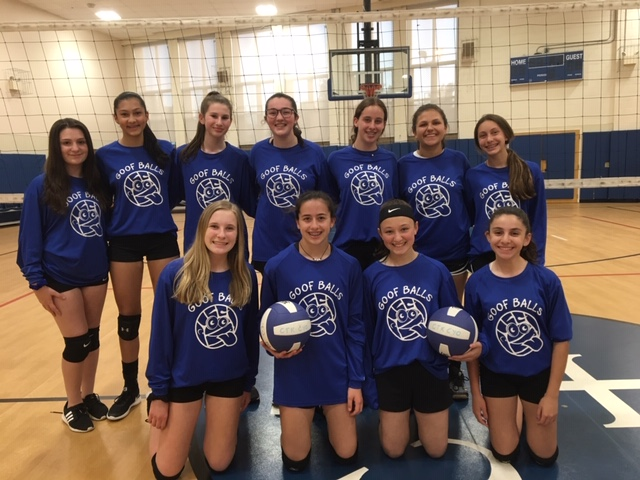 "8th Grade Volleyball ""Goofballs"" ~ May 2019"