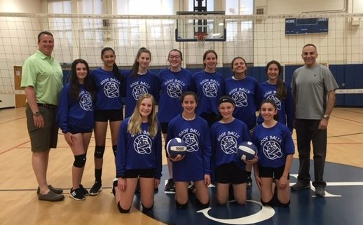 8th Grade Volleyball (Briordy) ~ May 2019