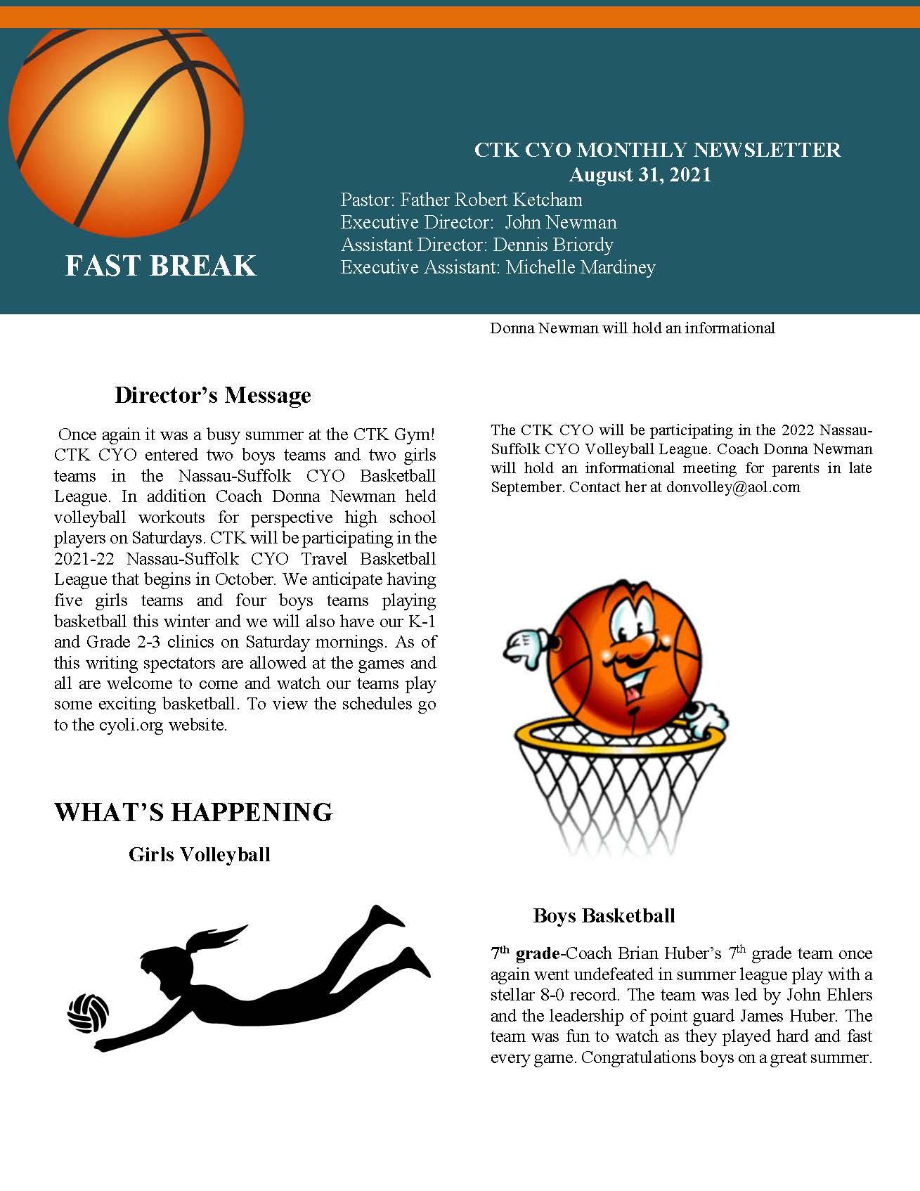 2021-08-CYO-Newsletter